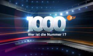 1000 – Wer ist die Nummer 1?